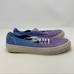 Vans Women's Blue & Purple Sneakers Size 9